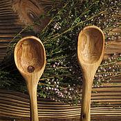 Посуда ручной работы. Ярмарка Мастеров - ручная работа Ложечка из дуба. Handmade.