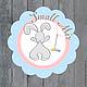 Баннеры для Магазинов мастеров ручной работы. Ярмарка Мастеров - ручная работа. Купить Логотип Small-mir. Handmade. Голубой, лого