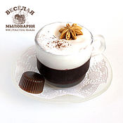 """Косметика ручной работы. Ярмарка Мастеров - ручная работа Мыло """"Чашка кофе капучино"""". Handmade."""