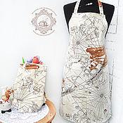 Для дома и интерьера ручной работы. Ярмарка Мастеров - ручная работа Подарочный водоотталкивающий набор Корабли. Handmade.