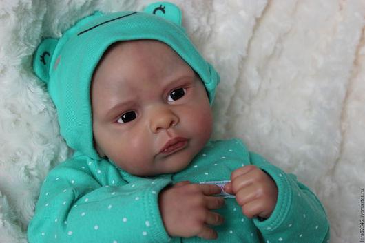 Куклы-младенцы и reborn ручной работы. Ярмарка Мастеров - ручная работа. Купить Малютка. Handmade. Бежевый, Молд