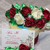 """Диадемы ручной работы. Ярмарка Мастеров - ручная работа Обруч с розами """"Аленький цветочек"""". Handmade."""