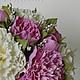 Свадебные цветы ручной работы. Свадебный букет с пионами и розами. Катерина Доброва (Кетлин). Ярмарка Мастеров. Букет из фоамирана