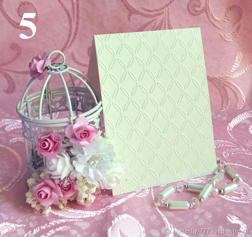 ручной работы. Ярмарка Мастеров - ручная работа. Купить Заготовки для открыток № 5, 6, 7, 8, 9,10. Handmade.