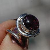 Кольцо с турмалином (С63)