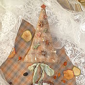 """Подарки к праздникам ручной работы. Ярмарка Мастеров - ручная работа чердачная елка"""" Шотландка"""". Handmade."""