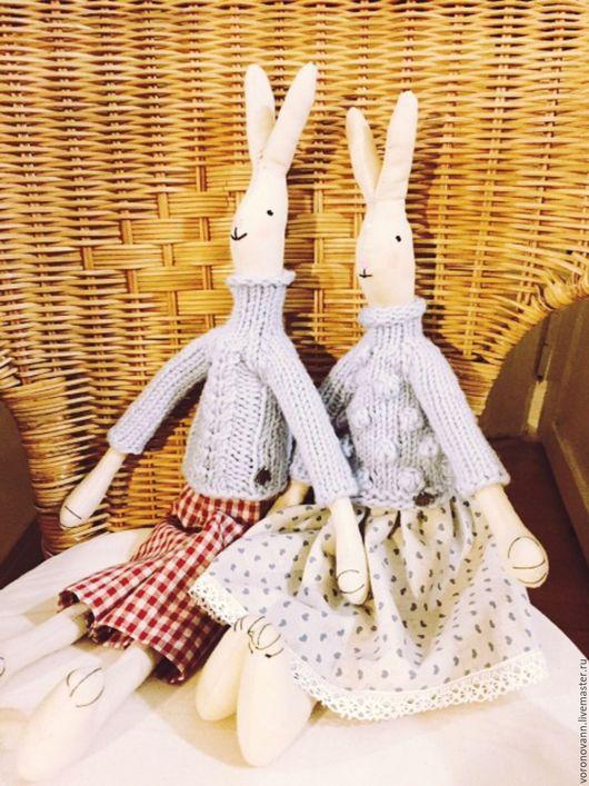 Игрушки животные, ручной работы. Ярмарка Мастеров - ручная работа. Купить Игрушка ручной работы Кролики Maileg. Handmade.