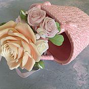 Свадебный салон ручной работы. Ярмарка Мастеров - ручная работа Браслет из полимерной глины. Handmade.