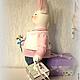 Куклы Тильды ручной работы. Заказать Заяц Стёпа Поздравлялкин. Тильда зайчик.. Юлия. Ярмарка Мастеров. Тильда