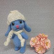 Куклы и игрушки ручной работы. Ярмарка Мастеров - ручная работа Зайка валяная Ясонька. Handmade.