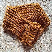Одежда ручной работы. Ярмарка Мастеров - ручная работа Снуд Азиатский колосок. Handmade.