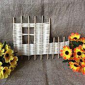 Корзины ручной работы. Ярмарка Мастеров - ручная работа Основа для декора( забор). Handmade.