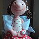 Статуэтки ручной работы. Девочка с чемоданом (не фея:))). Фея, похожая на вас (Анна Черных). Ярмарка Мастеров. Настроение