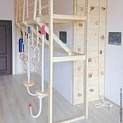 Для дома и интерьера ручной работы. Ярмарка Мастеров - ручная работа Спортивный уголок в детской студии. Handmade.