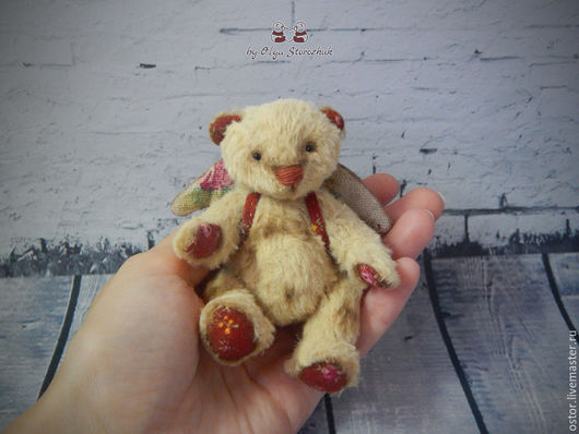 Мишки Тедди ручной работы. Ярмарка Мастеров - ручная работа. Купить Мишка Малыш. Handmade. Коричневый, мишка в подарок