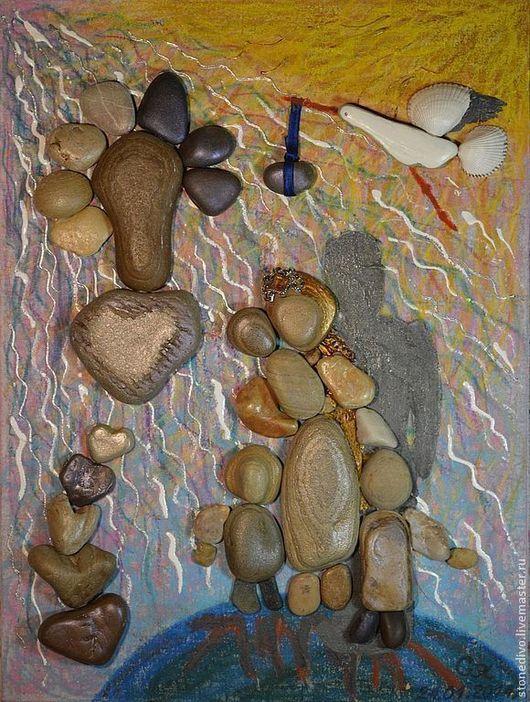 При приобретении картины `Матерь Мира` книга поэм-сказок `Колечко` и `Брошь` Галины Горюновой  в подарок. Данная картина использована в этой книге в качестве фоторепродукции.
