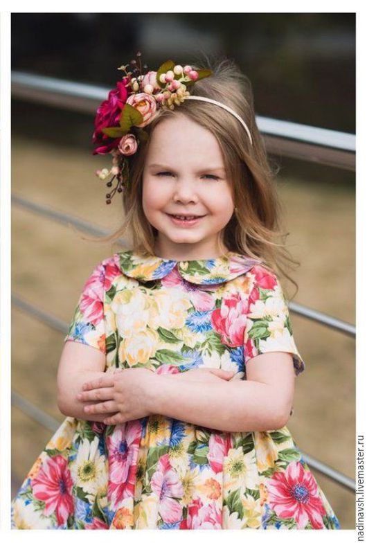 Одежда для девочек, ручной работы. Ярмарка Мастеров - ручная работа. Купить Платье для девочки. Handmade. Платье для девочки, желтый