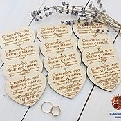 Свадебный салон handmade. Livemaster - original item Wedding invitations in the shape of hearts. Handmade.