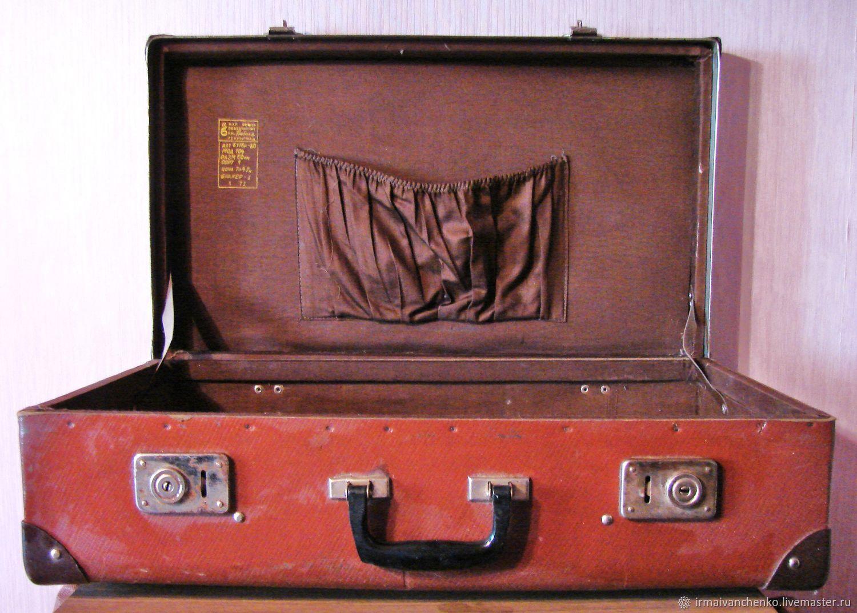 Винтажные чемоданы