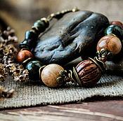 Украшения ручной работы. Ярмарка Мастеров - ручная работа Лесная нимфа  - браслет. Handmade.