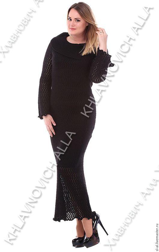 """Платья ручной работы. Ярмарка Мастеров - ручная работа. Купить Платье """"Леди стиль"""""""" Модель №761. Handmade. Черный"""