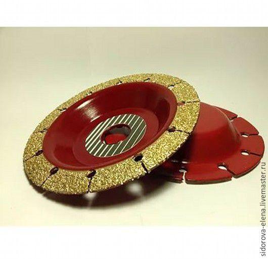 Другие виды рукоделия ручной работы. Ярмарка Мастеров - ручная работа. Купить Обдирочный диск нормал. Handmade. Ярко-красный