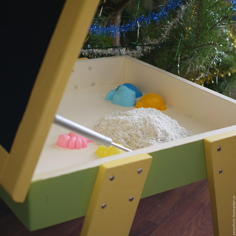 Песочница стол из дерева