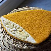 Для дома и интерьера handmade. Livemaster - original item Lemon - stand under a hot.. Handmade.