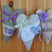 Куклы и игрушки handmade. Livemaster - original item Hearts Tilda in the style of Provence. Handmade.