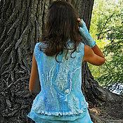 Одежда handmade. Livemaster - original item Vest felt