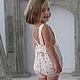 Одежда для девочек, ручной работы. Боди (Арт.: Д- 60). Анна (Авторская Одежда). Интернет-магазин Ярмарка Мастеров.