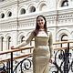 Dresses handmade. Livemaster - handmade. Buy Dress 017.Cocktail dress, light green dress