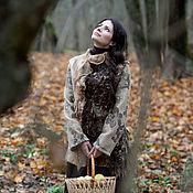 Одежда ручной работы. Ярмарка Мастеров - ручная работа Валяное пальто из коллекции «Две сестры». Handmade.