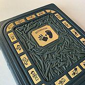 Сувениры и подарки handmade. Livemaster - original item Photo album (leather). Handmade.