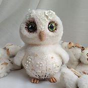 Куклы и игрушки ручной работы. Ярмарка Мастеров - ручная работа Совушка Одуванчик. Handmade.