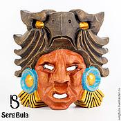 Для дома и интерьера ручной работы. Ярмарка Мастеров - ручная работа Маска ацтекского война-орла. Handmade.