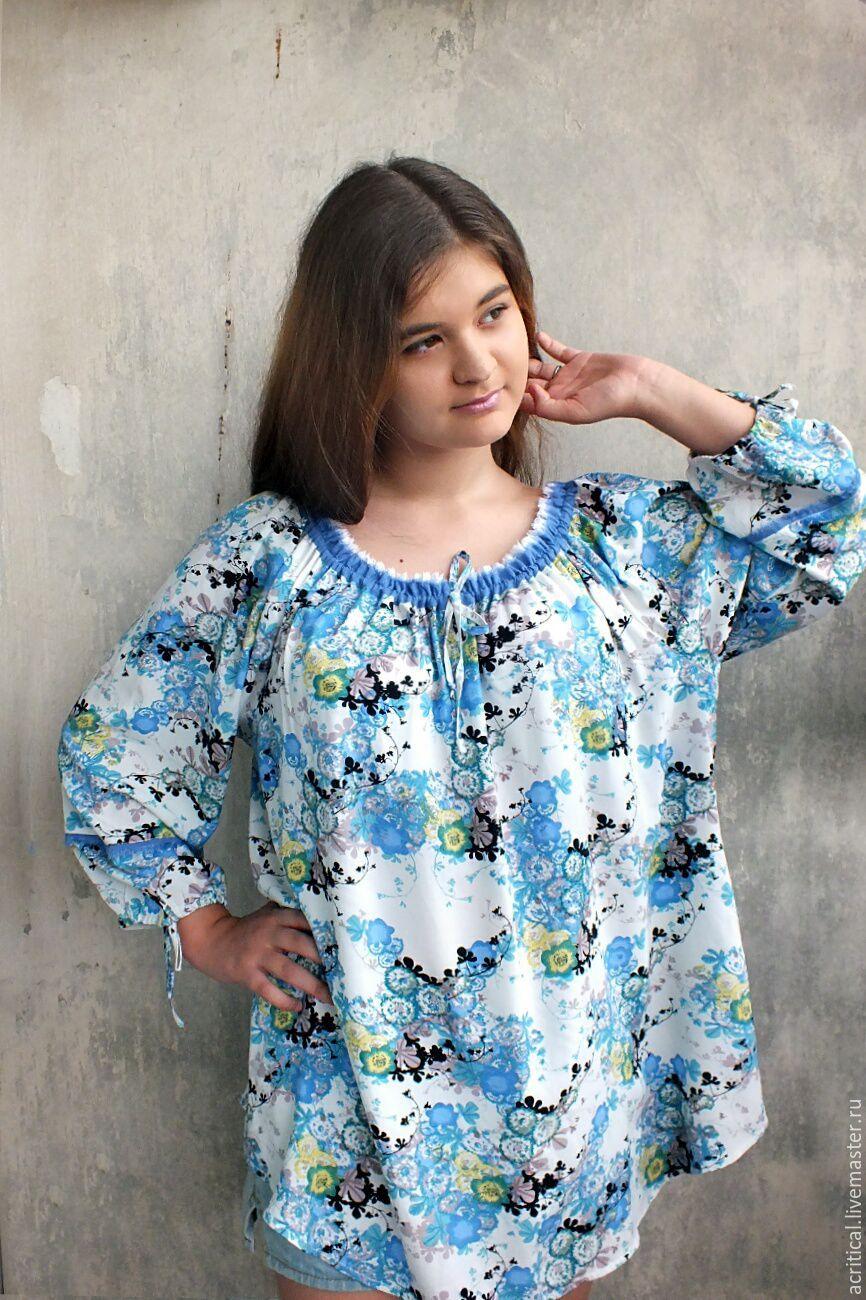 Купить блузки лето