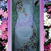 Одежда handmade. Livemaster - original item Dress Forget-Me-Nots. Handmade.