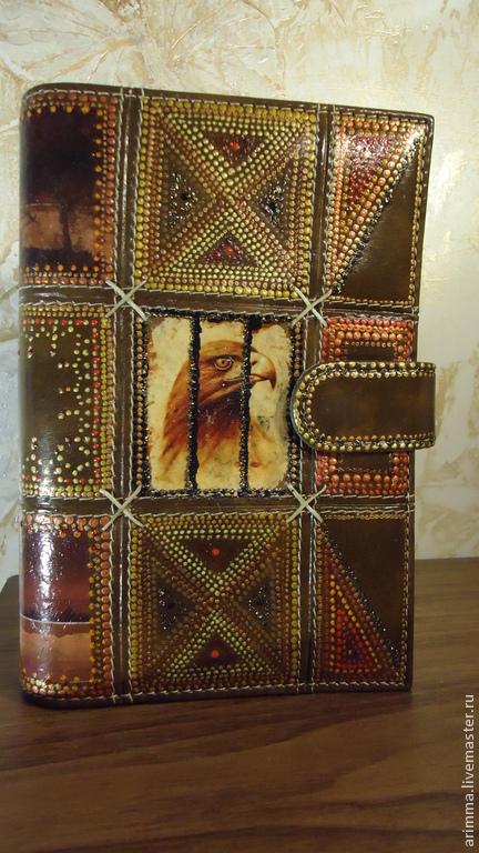 Блокноты ручной работы. Ярмарка Мастеров - ручная работа. Купить блокнот  Африка. Handmade. Коричневый, распечатки