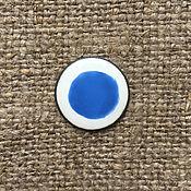 Материалы для творчества handmade. Livemaster - original item Overglaze paint Dulevo No. №5595 blue. Handmade.