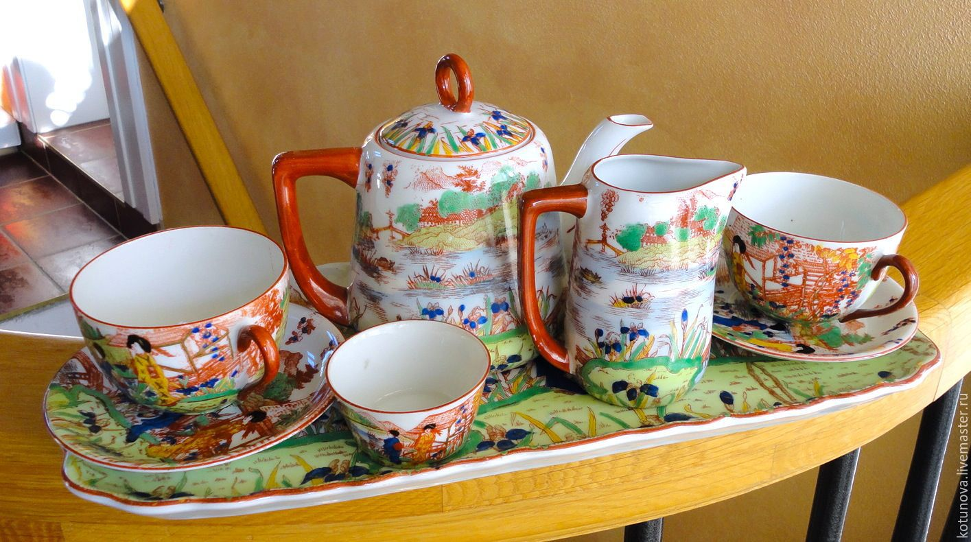 Фарфор и чай китая