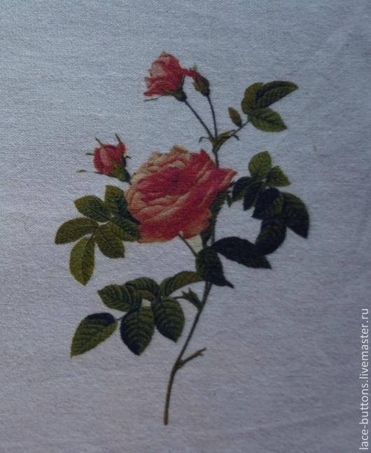 """Шитье ручной работы. Ярмарка Мастеров - ручная работа. Купить Купоны льняные серии """"Розы"""" 30х20см. Handmade. Купон"""