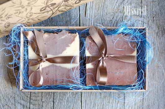 Мыло ручной работы. Ярмарка Мастеров - ручная работа. Купить Шелковое натуральное мыло Шоколадница. Handmade. Мыло