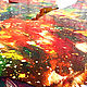 Декоративная посуда ручной работы. Заказать Блюдо из дерева, с росписью, под фрукты, декоративное, панно. Олег (moy-rabota). Ярмарка Мастеров. Фото №3