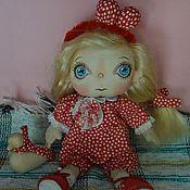 """Куклы и игрушки ручной работы. Ярмарка Мастеров - ручная работа Кукла текстильная.""""Горошек"""".. Handmade."""