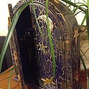 """Для дома и интерьера ручной работы. Ярмарка Мастеров - ручная работа Ключница """"Лунная ночь"""". Handmade."""