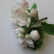 Цветы и флористика ручной работы. Ярмарка Мастеров - ручная работа Яблоневый цвет. Handmade.