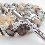 Фен-шуй и эзотерика handmade. Livemaster - original item rosary Dragon veins grey. Handmade.