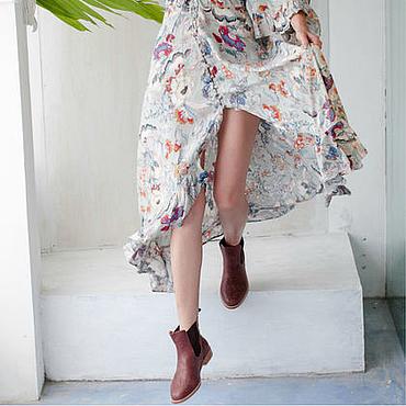 Обувь ручной работы. Ярмарка Мастеров - ручная работа Eclipse. Кожаные сапожки в стиле «Челси».. Handmade.