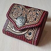 Сумки и аксессуары handmade. Livemaster - original item Leather purse, wallet, purse. Handmade.